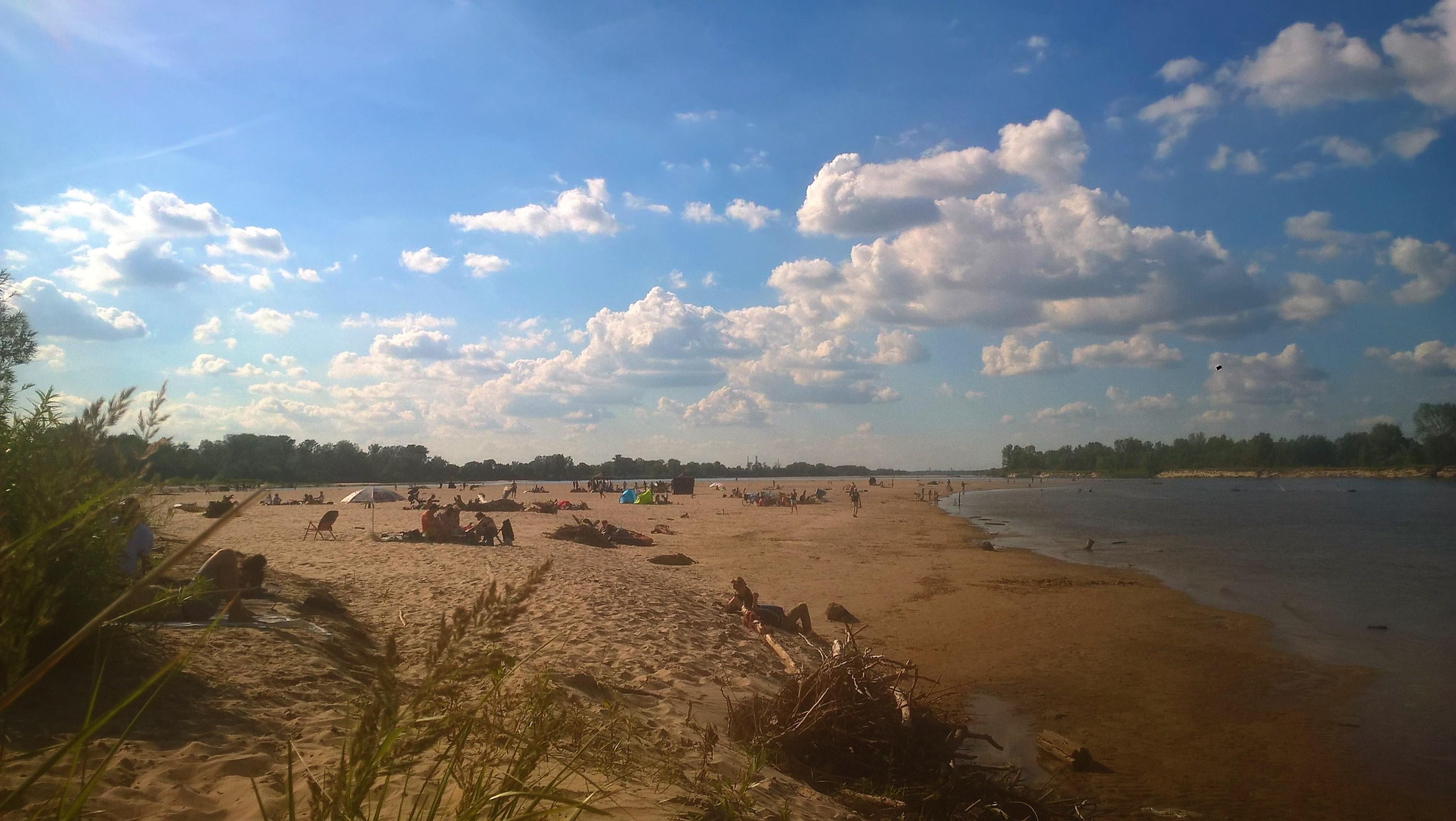 wyspy świderskie plaża