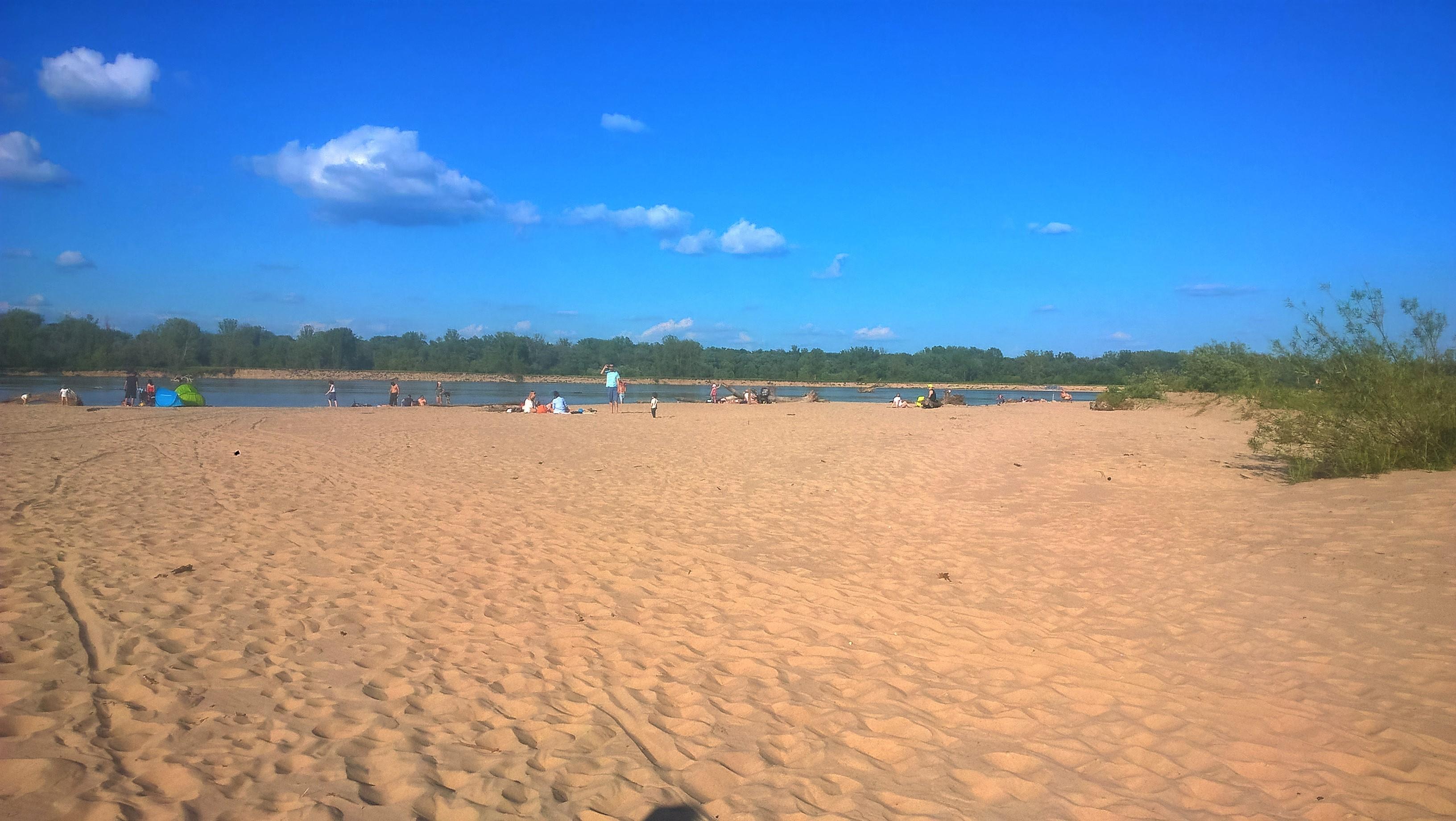 najlepsza plaża warszawa